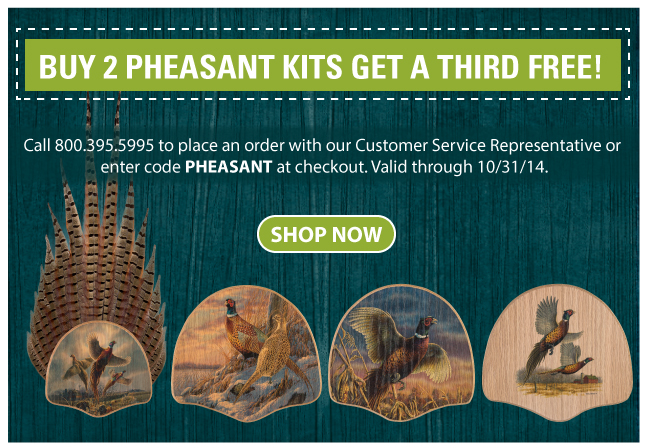 Buy Two Pheasant Tails get the third free&#33&#59;
