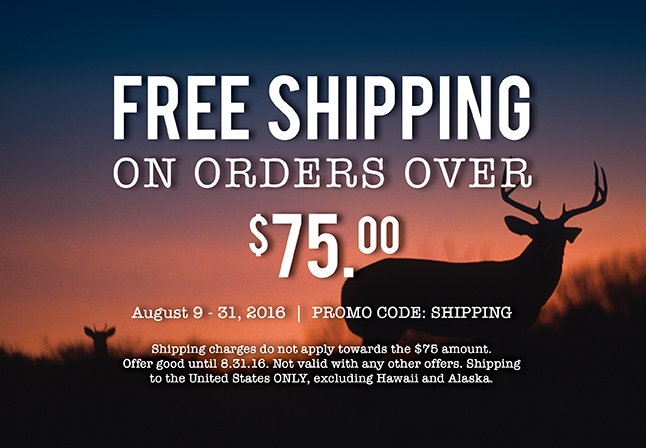 Aug Free Shipping Over 75