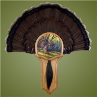 Deluxe Turkey Display Kit, Oak Spring Strut
