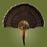 Turkey Display Kit, Oak Spring Strut