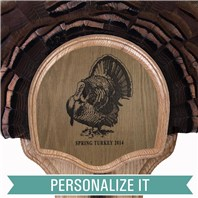 Personalized Deluxe Turkey Display Kit, Turkey Silhouette