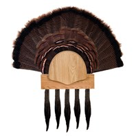 Five Beard Turkey Display Kit, Oak