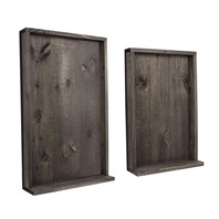 Rustic Shadow Panels