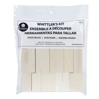 Whittler's Kit, Basswood, 10 PC.