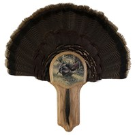Deluxe Turkey Display Kit, Oak Osceola