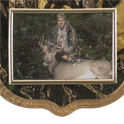 Camo Deluxe Antler Display Kit with Photo Frame   Walnut ...