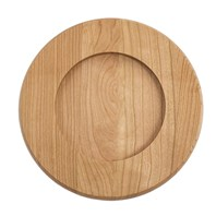 Reversible Cherry Round Base - 8""