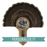 Personalized Deluxe Turkey Display Kit, Oak Rio Grande