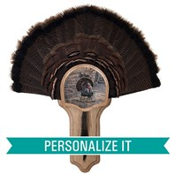 Personalized Deluxe Turkey Display Kit, Oak Eastern