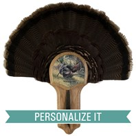 Personalized Deluxe Turkey Display Kit, Oak Osceola